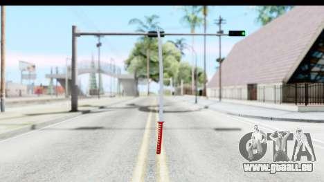 Katana from GTA Advance für GTA San Andreas zweiten Screenshot