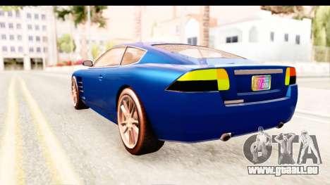 GTA EFLC TBoGT F620 v2 für GTA San Andreas rechten Ansicht