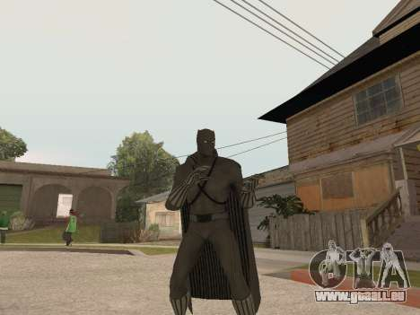 Marvel: Ultimate Alliance 2 - Black Phanter für GTA San Andreas dritten Screenshot