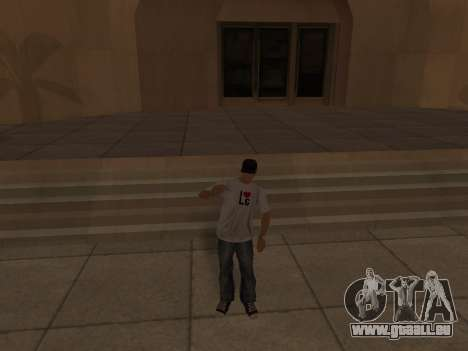 White CJ v3 Improved für GTA San Andreas neunten Screenshot
