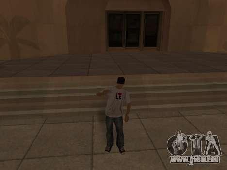 White CJ v3 Improved pour GTA San Andreas neuvième écran