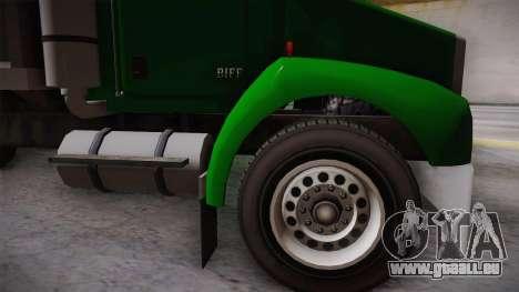 GTA 4 HVY Biff pour GTA San Andreas sur la vue arrière gauche