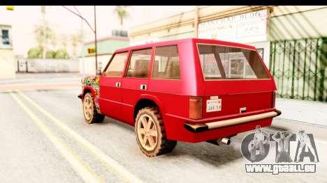 Huntley Sticker Bomb pour GTA San Andreas laissé vue