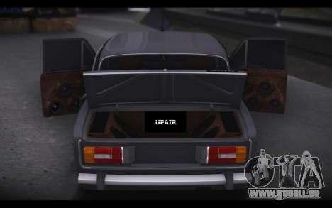 VAZ 2106 Voiture de Son pour GTA San Andreas laissé vue