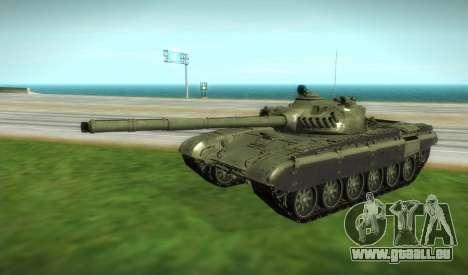 T-72 Modifié pour GTA San Andreas vue de droite