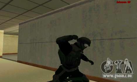 Haut FIB SWAT von GTA 5 für GTA San Andreas achten Screenshot