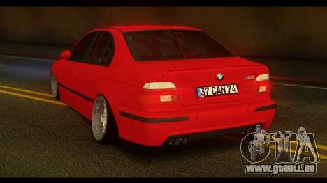 BMW M5 E39 für GTA San Andreas linke Ansicht