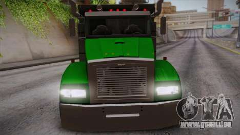 GTA 4 HVY Biff pour GTA San Andreas vue de droite