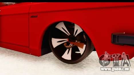 Peykan Pickup Full Sport Iranian für GTA San Andreas Rückansicht