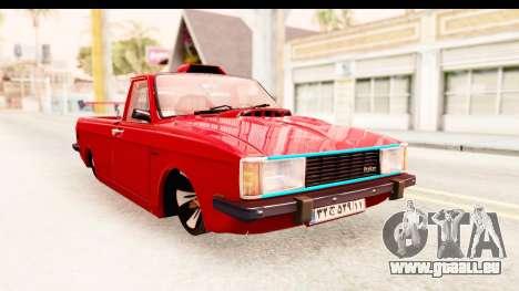 Peykan Pickup Full Sport Iranian pour GTA San Andreas
