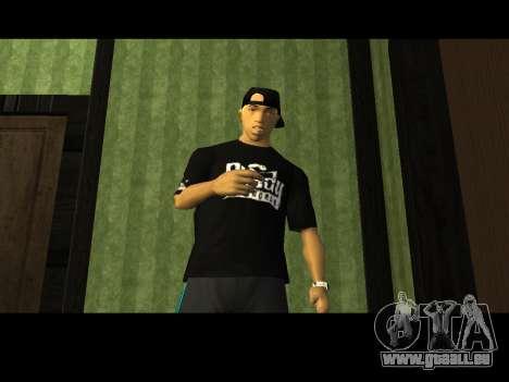 White CJ v3 Improved pour GTA San Andreas cinquième écran