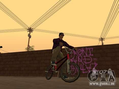 White CJ v3 Improved pour GTA San Andreas troisième écran