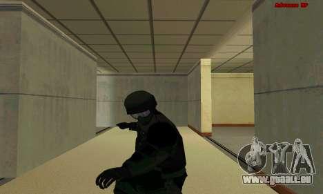Haut FIB SWAT von GTA 5 für GTA San Andreas siebten Screenshot