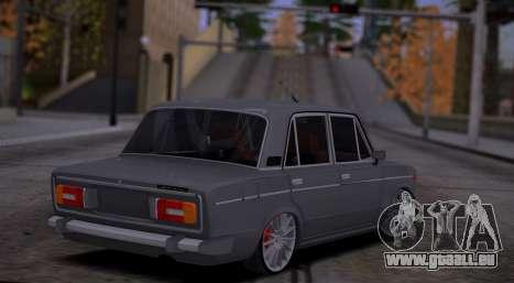 VAZ 2106 Auto-Sound für GTA San Andreas rechten Ansicht