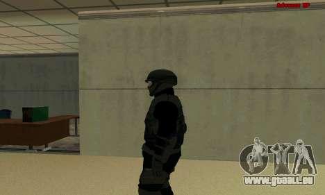 La peau FIB SWAT de GTA 5 pour GTA San Andreas deuxième écran