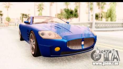 GTA EFLC TBoGT F620 v2 für GTA San Andreas zurück linke Ansicht