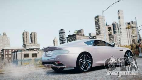 Aston Martin DB9 2013 für GTA 4 Innen
