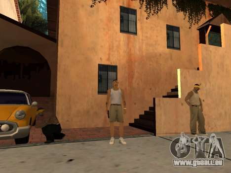 White CJ v3 Improved für GTA San Andreas