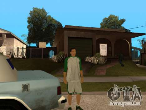 White CJ v3 Improved für GTA San Andreas achten Screenshot