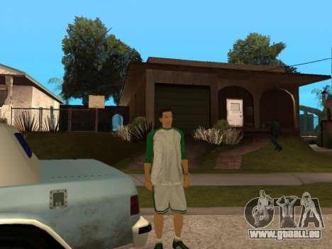 White CJ v3 Improved pour GTA San Andreas huitième écran