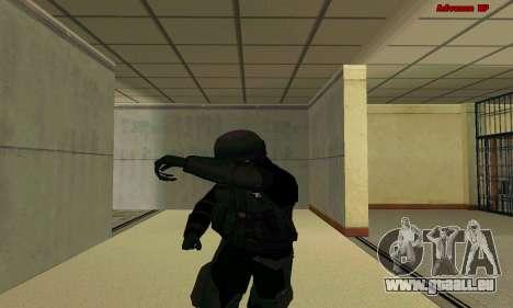 La peau FIB SWAT de GTA 5 pour GTA San Andreas sixième écran