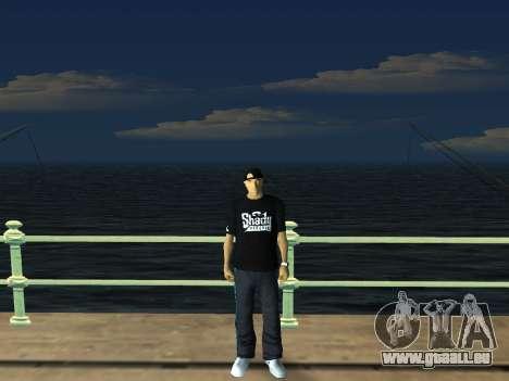 White CJ v3 Improved pour GTA San Andreas septième écran