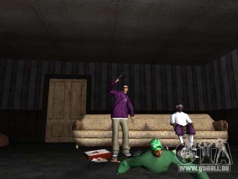 White CJ v3 Improved pour GTA San Andreas quatrième écran