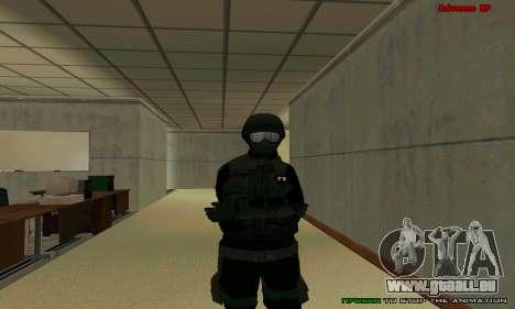 La peau FIB SWAT de GTA 5 pour GTA San Andreas dixième écran