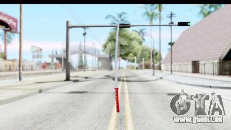 Katana from GTA Advance für GTA San Andreas dritten Screenshot