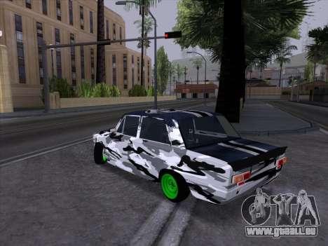 VAZ 2101 est une Voiture de Course 2 pour GTA San Andreas sur la vue arrière gauche