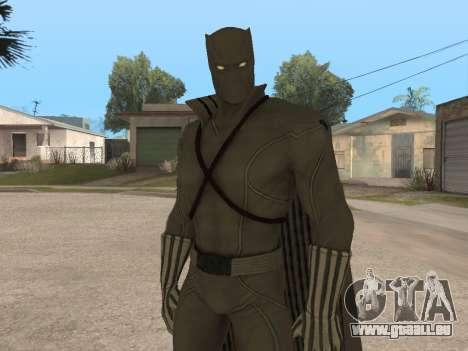 Marvel: Ultimate Alliance 2 - Black Phanter für GTA San Andreas zweiten Screenshot