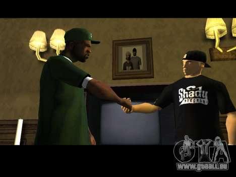 White CJ v3 Improved pour GTA San Andreas sixième écran