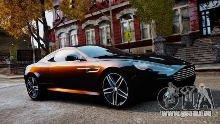 Aston Martin DB9 2013 pour GTA 4