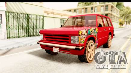 Huntley Sticker Bomb pour GTA San Andreas