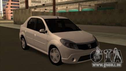 Dacia Logan Londero Misterios Urechiata für GTA San Andreas