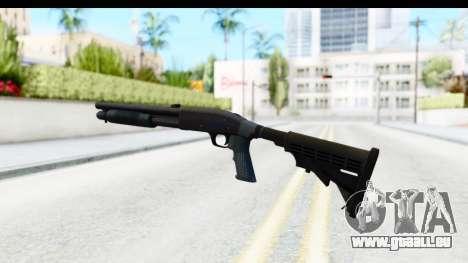 Tactical Mossberg 590A1 Black v4 pour GTA San Andreas troisième écran
