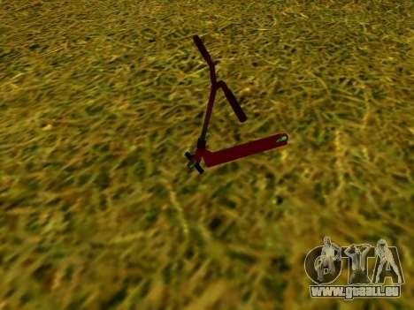 Stunt scooter für GTA San Andreas linke Ansicht