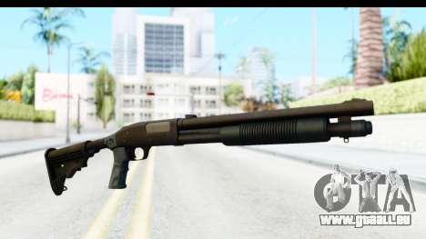 Tactical Mossberg 590A1 Black v4 pour GTA San Andreas deuxième écran