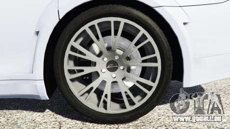GTA 5 BMW 760Li (F02) Lumma CLR 750 [replace] arrière droit vue de côté