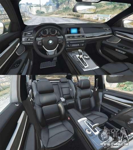 GTA 5 BMW 760Li (F02) Lumma CLR 750 [replace] avant droite vue de côté