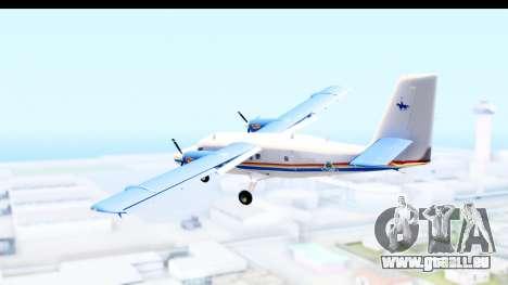 DHC-6-400 RCMPGRC pour GTA San Andreas vue de droite