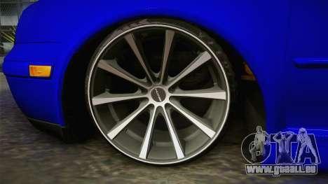 Volkswagen Golf für GTA San Andreas zurück linke Ansicht