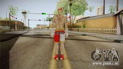 Sleeping Dogs - Wei Shen Muay Thai DLC Bald pour GTA San Andreas troisième écran