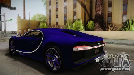 Bugatti Chiron 2017 v2.0 für GTA San Andreas linke Ansicht
