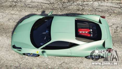 GTA 5 Ferrari 458 Italia [replace] Rückansicht