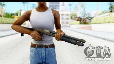 Tactical Mossberg 590A1 Black v4 pour GTA San Andreas