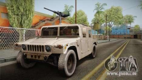 HMMWV Humvee für GTA San Andreas