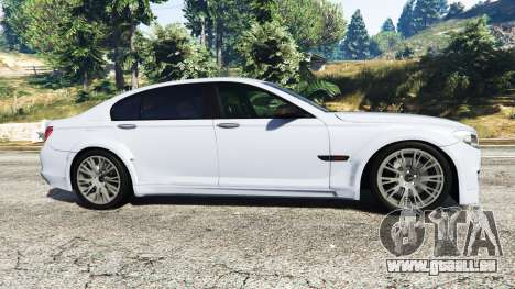 GTA 5 BMW 760Li (F02) Lumma CLR 750 [replace] vue latérale gauche