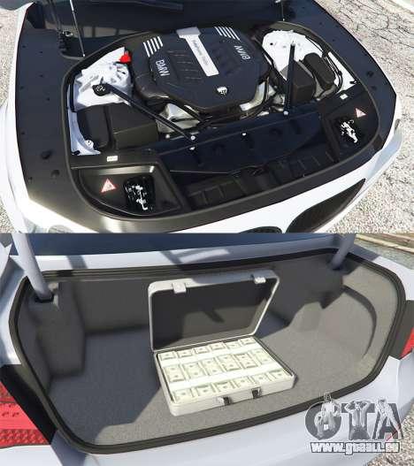 GTA 5 BMW 760Li (F02) Lumma CLR 750 [replace] droite vue latérale