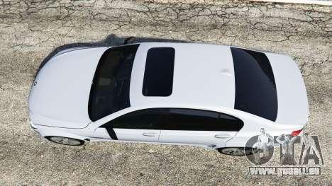 GTA 5 BMW 760Li (F02) Lumma CLR 750 [replace] Rückansicht